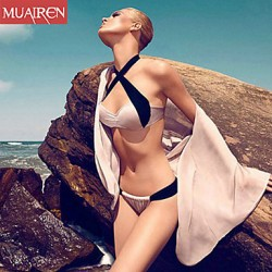 Muairen® Women'S The New Sexy Bikini Australia Swimwear Australia SwimSuit Solid