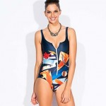Women's Padless Bra Floral One-pieces (Others)