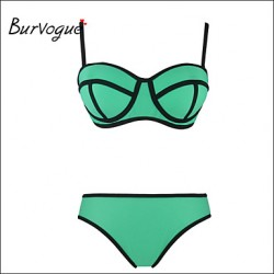 Burvogue Women's Push up Swimsuit Australia Swimwear Australia Bathing Suit Bikini Australia Set Beachwear