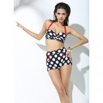Women Push-up/Underwire Bra/Padless Bra Halter High Wigh Swimwear Australia Swimsuit Australia Bathing Suit