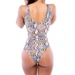 Women's One-pieces , Animal/Bandage Wireless/Padless Bra Others Multi-color