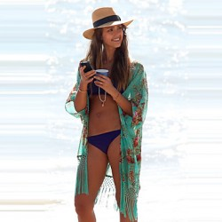 Hot Sale Half Sleeve Solid Swimwear Australia High Quality Print Swimsuit Australia Cover Up 2019 New Style Summer Sexy Beach Cover Up