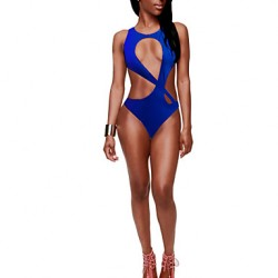 Woman Summer New Sexy Back Cross Swimsuit Australia Cut Out One Piece Swimsuit