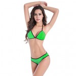 Promotion 8 Colors Back Triangled Closured Straps Hot Whoelsae Pad Sexy Lady Bikini Australia M.L.XL.XXL