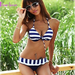 Women Halter Multi Pieces , Color Block Floral Push Up Wireless Padded Bras Cotton Blends Polyester Spandex Multi Color