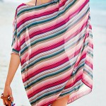 New 2019 Fashion Striped Swimsuit Australia Supper Deal Holiday Beach Swimwear Australia Hot Sale Beautiful Polyester Summer Beach Cover up