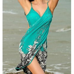 Women New Summer Look Slimmer Loose Beach Cover Up