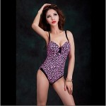 Foclassy® Women's Push-Up One-Piece Floral Printed Slim Thin