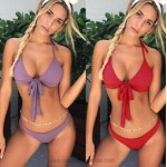 Bikini Bowknot Two Piece Swimsuit