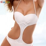 KissTies®Women Sexy Hollow Push-up Straped One-pieces