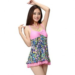 YINGFA Women Strap Polyester Spandex Padded Fashion One Piece Swimwear
