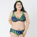 2015 Big Bikini Australia For Fat Women Plus Size Sexy Bikini Australia Brazilian Biquini Swimsuit Australia Triangl Swimwear Australia Push Up Lady Bikini