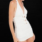 Summer Explosion Models Women Sexy Deep V Backless One Piece Swimsuit