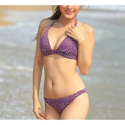 Women's Fashion Sexy Purple Star Beach wear Bikini Australia Set Swimwear Australia Swimsuit Australia Biquini Bathing Suit