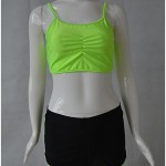 Women's Halter Tankinis , Solid Wireless Polyester Multi-color