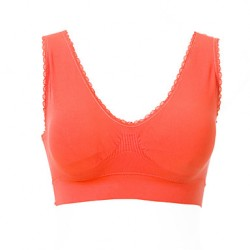 Women Freedom Seamless Racerback Sports Bra Yoga Bra