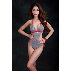 Women's Straped One-pieces Strapped Nylon Red