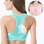No Trace Of Breathable Shaping Sports Underwear Bra Yoga Gather Large Wireless Sleep Underwear (1)
