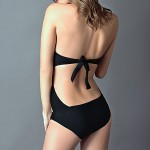 Woman Summer New Sexy Swimsuit Australia Goddess Cut Out One Piece Swimsuit