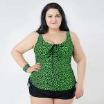 2019 Summer Women Leopard Tankinis Set Swimwear Australia Brazilian Female Swimsuit Australia Plus Size Bathing Suit For Big Women 2XL 6XL