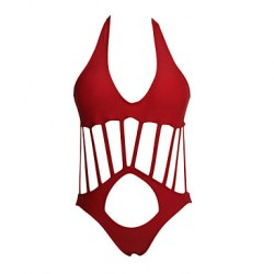 Women's Sultry Hollow-out Halter Monokini