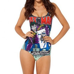 Women's One-pieces , Floral Wireless Spandex Multi-color
