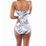 Women Straped One Pieces , Floral Wireless Padless Bra Others Multi Color