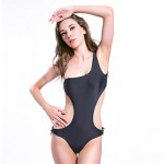 Woman's Summer New Sexy single shoulder Swimsuit Australia Cut Out One Piece Swimsuit