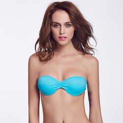 The Fille Women Sexy Push Up Padded Bras Underwire Bra Solid Halter Bikini Australia Tops