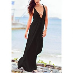 Women's Fashion Sexy Solid Deep V Swimwear Australia Swimsuit Australia Bikini Australia Beach wear Holiday Long dress