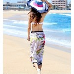 Women's Cover-Ups , Floral Nylon/Spandex Multi-color