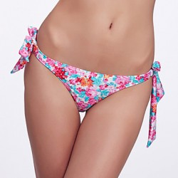 The Fille Women's Adjustable Stripped /Floral Watercolor Triangle Bottoms of Bikinis Australia