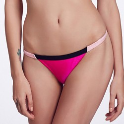 The Fille Women's Mosaic Multi-color /Low Rise/Pink/Black/Rose Red Bikini Australia Triangle Panties