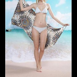 Women Ice Silk Wireless/Padless Bra Halter Cover-Ups