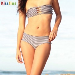 KissTies®Women's Fashion Nylon and Spandex Sexy Beach Swimwear Australia Bikini