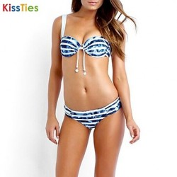 KissTies®Women's Fashion Nylon and Spandex Sexy Beach Swimwear Australia Bikini Australia Set