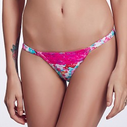 The Fille Women's Sexy Watermelon Lacy /Color Block/Low Rise/Watercolor Printed Triangle Bikini Australia Panties