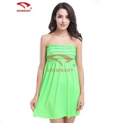 Women Playsuits Polyester/Spandex Halter/Bandeau Swimming Accessories/Cover-Ups