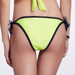 The Fille Women's Sexy Hollowed-out/Solid Triangle Bikini Australia Panties
