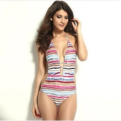 Women's Printed One-Piece Sexy Bikini Australia Swimwear