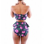 Women Bandeau Bikinis Australia , High Rise Floral Wireless Padless Bra Others Multi Color