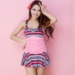 Women's Korean Wrinkle Swimwear(More Colors)