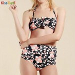KissTies®Women's Vintage High Waist Sexy Bikini Australia Set