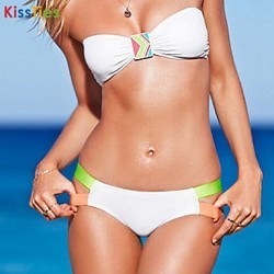 KissTies®Women's Fashion Contrast Color Sexy Bikini