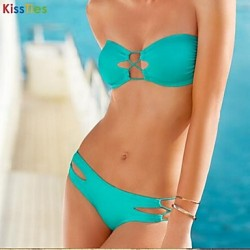 KissTies®Women's Up to date Sexy Multicolor bikini swimsuit