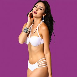 Women's Caged Look Hollow-out Bikini