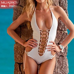 Muairen® Women'S  ConServative SwimSuit Piece SwimSuit