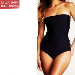 Muairen® Women'S The New ConServative Piece Back Rope SwimSuit Sexy Swimwear