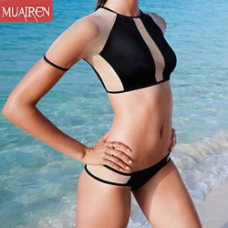 Muairen® Women'S Split SwimSuit Bikini Australia SwimSuit
