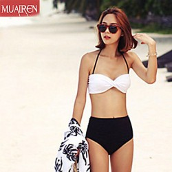 Muairen® Women'S New Korean High WaiSt Bikini Australia Swimwear
